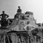 Soviet Lend Lease M3 Lee Grant And German Soldiers