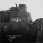 Front view of the M3 Lee tank 11