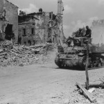 1st Armored Division M5 Stuart Light Tank in Montaione Italy 1944