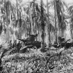 2 6 Australian Armored Regiment Mans M3 Stuart Tanks Near Buna