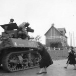2nd Free French Armored Division M5 Stuart Liberation of St. Saveur France 1944