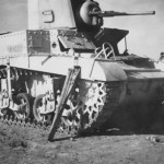 British M3 Stuart tank North Africa