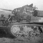 M3A1 Stuart of 1st Armored Regiment Tunisia 1942