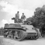 M5 Stuart tank 2nd Armored Division