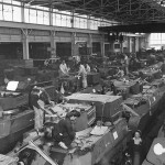 Women Workers Assemble M3 Stuart Tanks At Richmond Ford Plant 1943