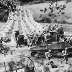 M4 Sherman Dozer and 39th Infantry Brigade Crossing Siegfried Line at Roetgen, September 15, 1944