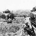 M4 Sherman tank Pacific
