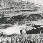 Marine M4 Sherman Tank on Okinawa 2