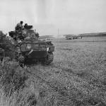 13th/18th Royal Hussars M4 Sherman Tank Balaclava in Action 1944