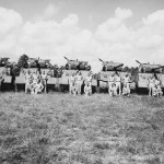 3rd Platoon Company A 812th Tank Battalion M4 Shermans 1945
