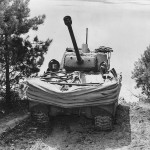 Duplex Drive M4 Sherman DD Donald Duck Amphibious Tank