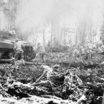 """M4 Sherman """"Lucky Legs II"""" of the 754th Tank Battalion Bougainville 1944"""