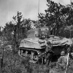 M4 Sherman Tank #30 96th Division Big Apple Ridge Battle 1945 Okinawa