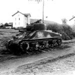 M4 Sherman Tank Destroyed