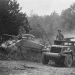 M4 Sherman Tank and M3A1 Halftrack 1942