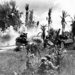 M4 Sherman Tanks Phillipines 1945