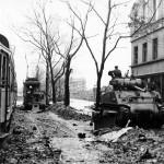 M4 Sherman tank in Cologne 1945