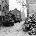 M4 Sherman tanks in Cologne 1945 2