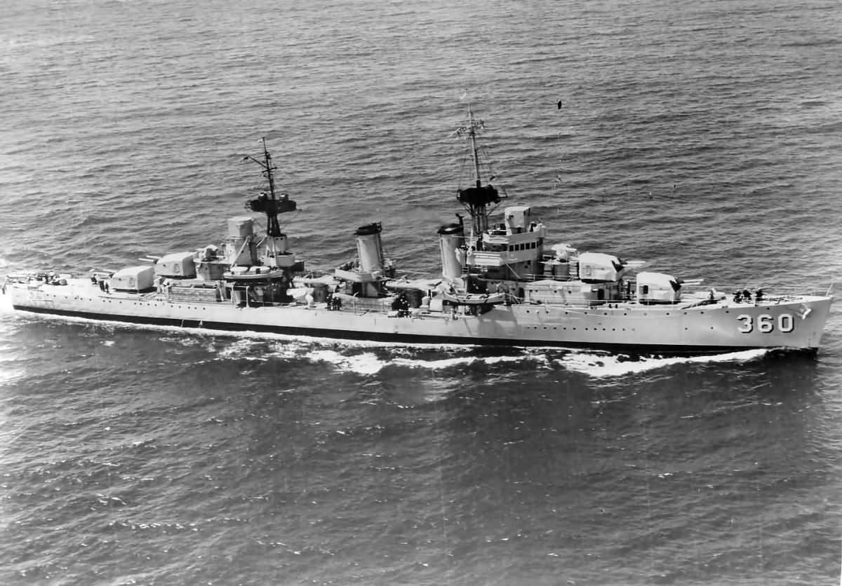 Destroyer USS Phelps DD-360