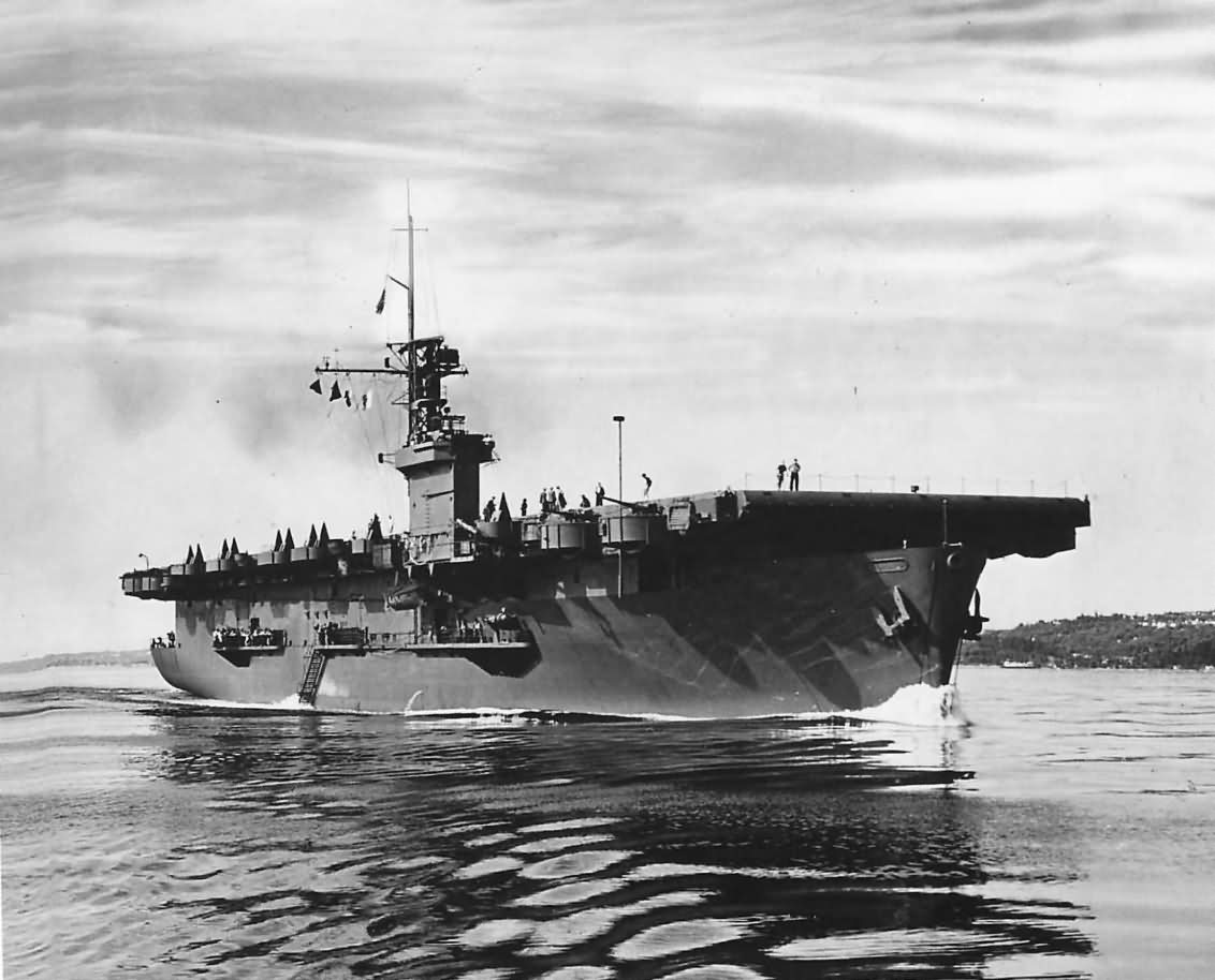 Escort Carrier USS Casablanca CVE-55 1943