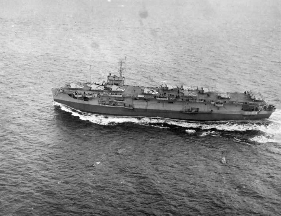 Escort carrier USS Croatan CVE-25