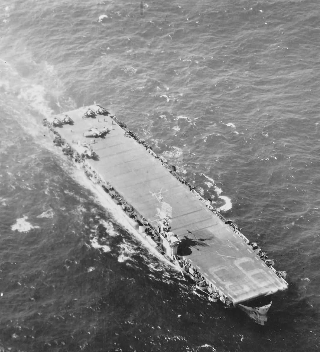 Escort carrier USS Makin Island CVE-93