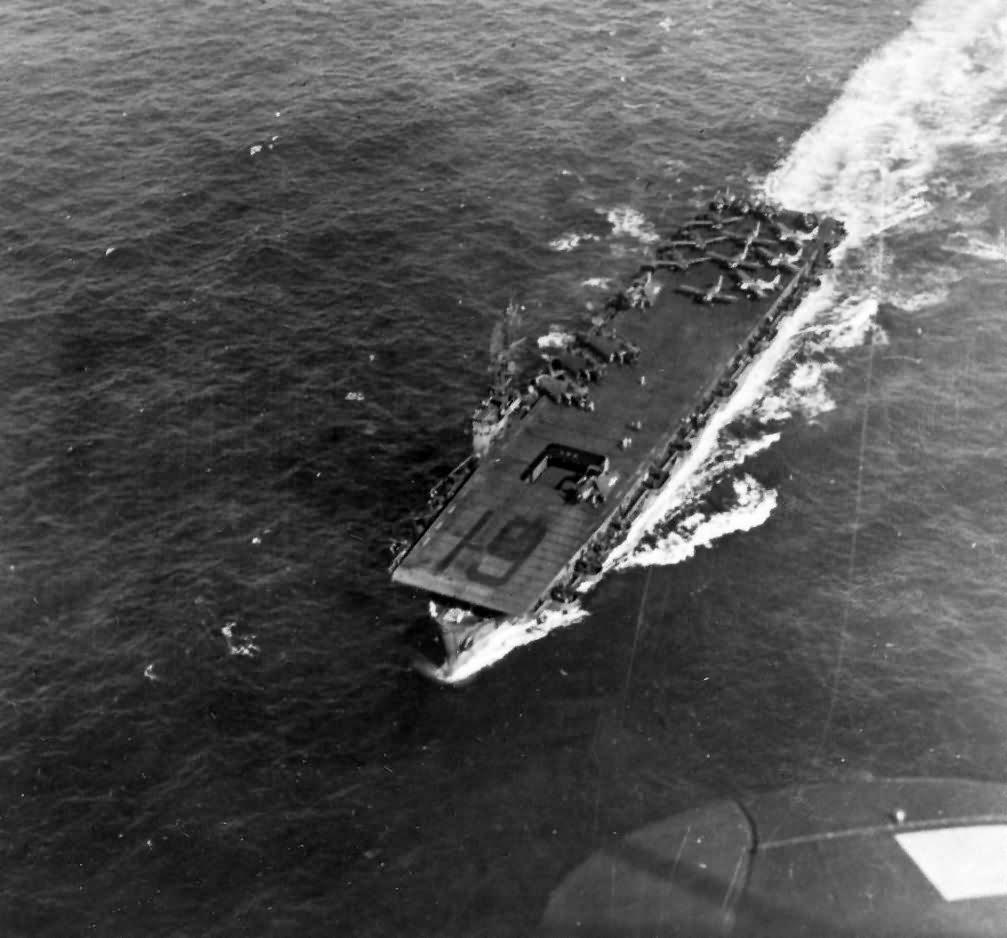 Escort carrier USS Manila Bay CVE-61