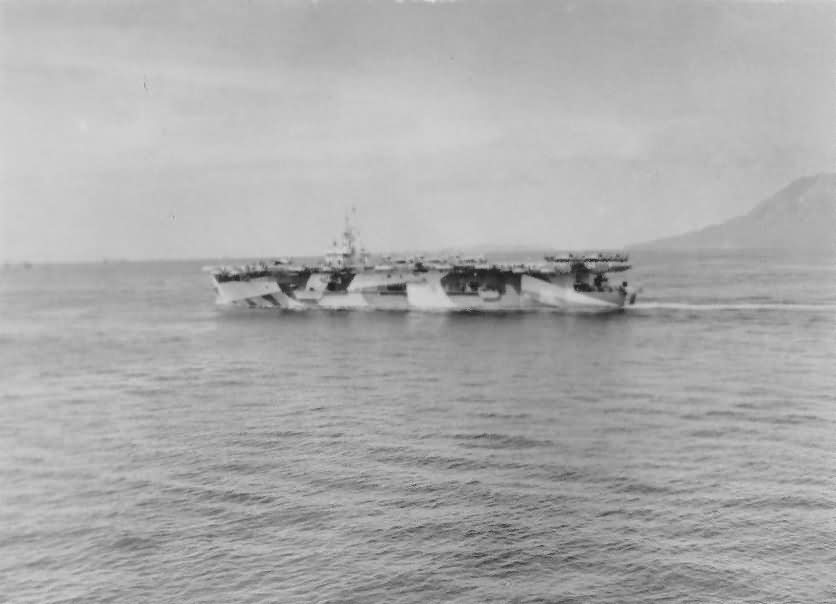 Escort carrier USS Savo Island CVE-78