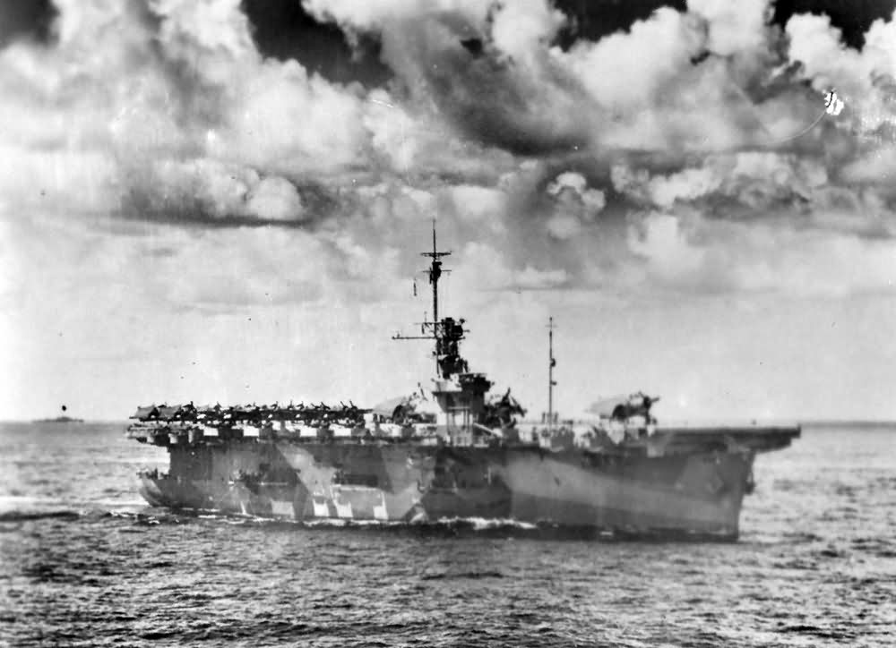 Escort carrier USS Wake Island CVE-65