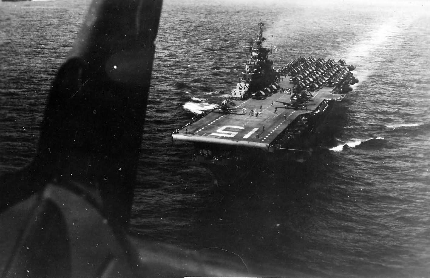 Essex class aircraft carrier USS Randolph CV-15