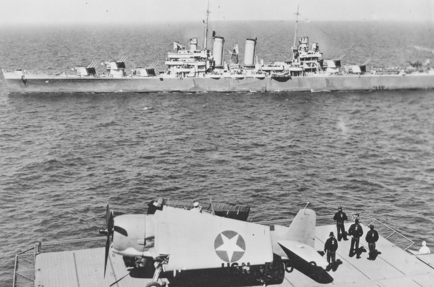 Light Cruiser USS Boise CL-47
