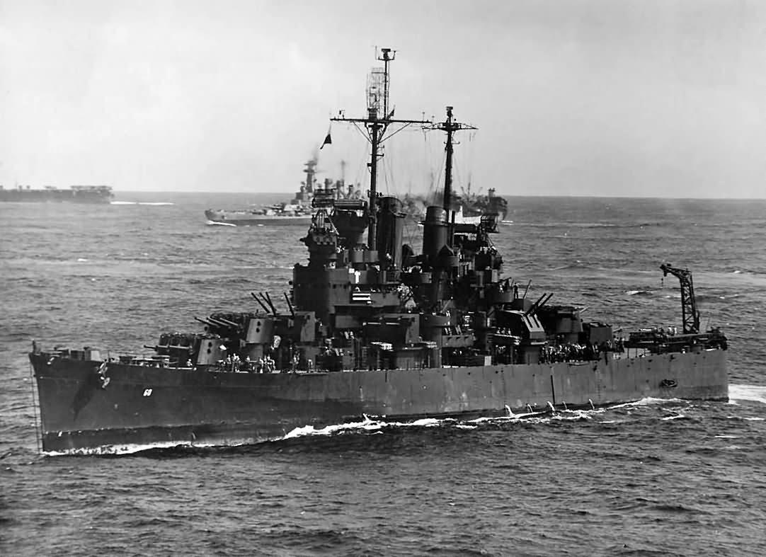 Light cruiser USS Sante-Fe CL-60