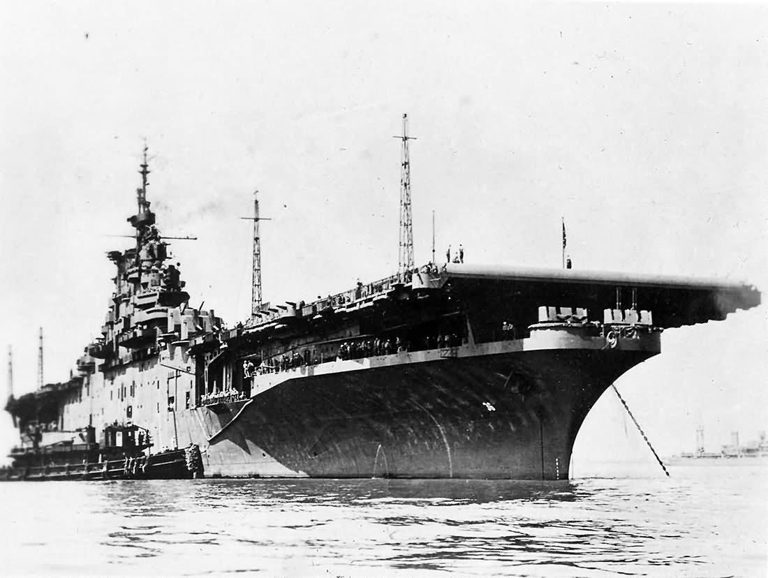 USS Antietam CV-36 aircraft carrier
