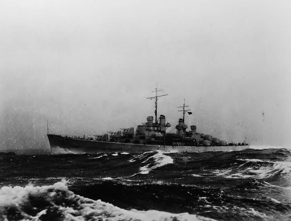 USS Atlanta (CL-51) Light Cruiser