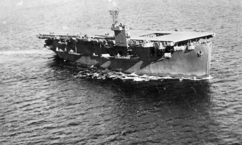 USS Bogue CVE-9 escort carrier