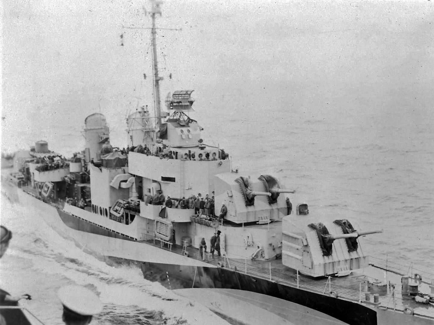 USS Borie DD-704 Destroyer