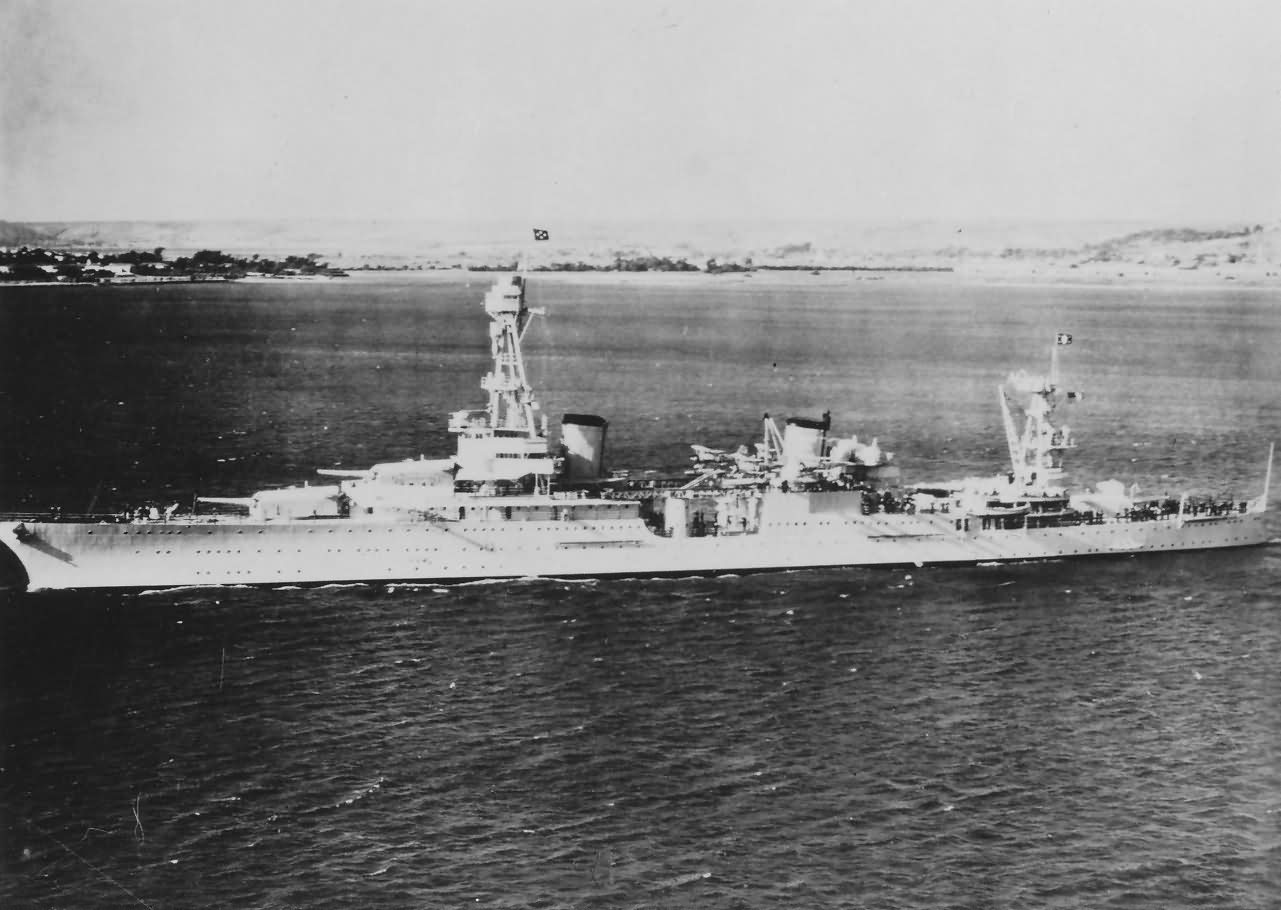 USS Houston (CA-30) US Navy Heavy Cruiser