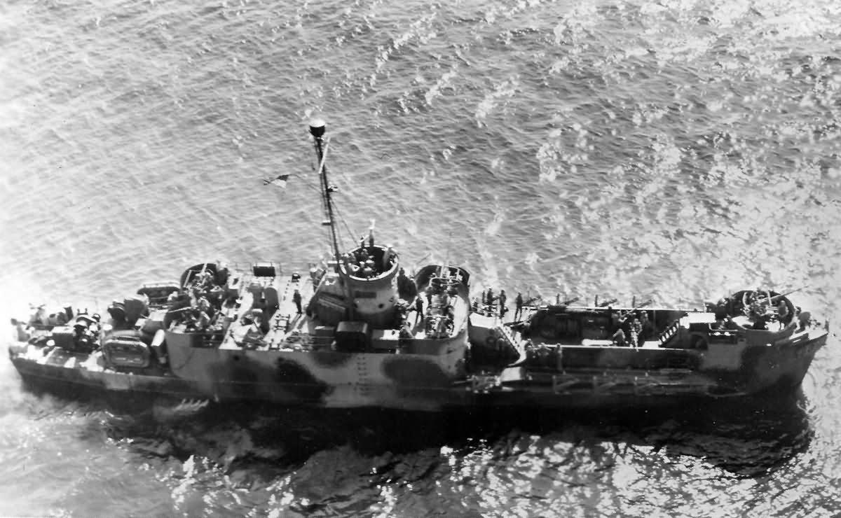 USS LCI(L)-586 Landing Craft Infantry