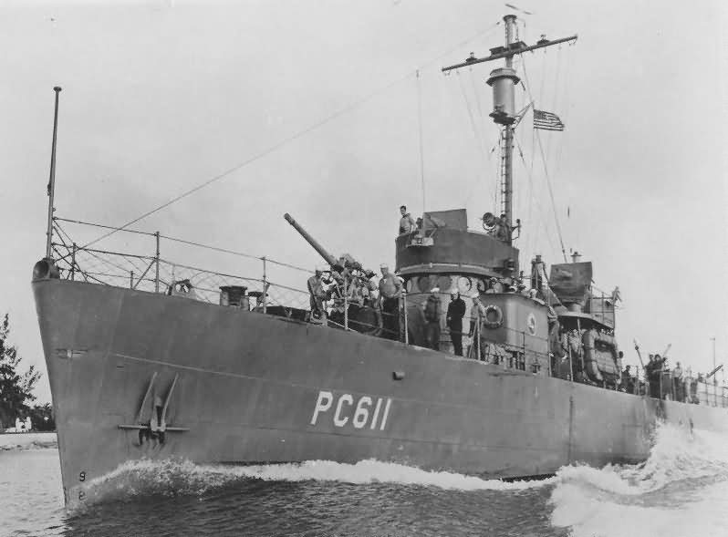 USS PC-611 Patrol Craft