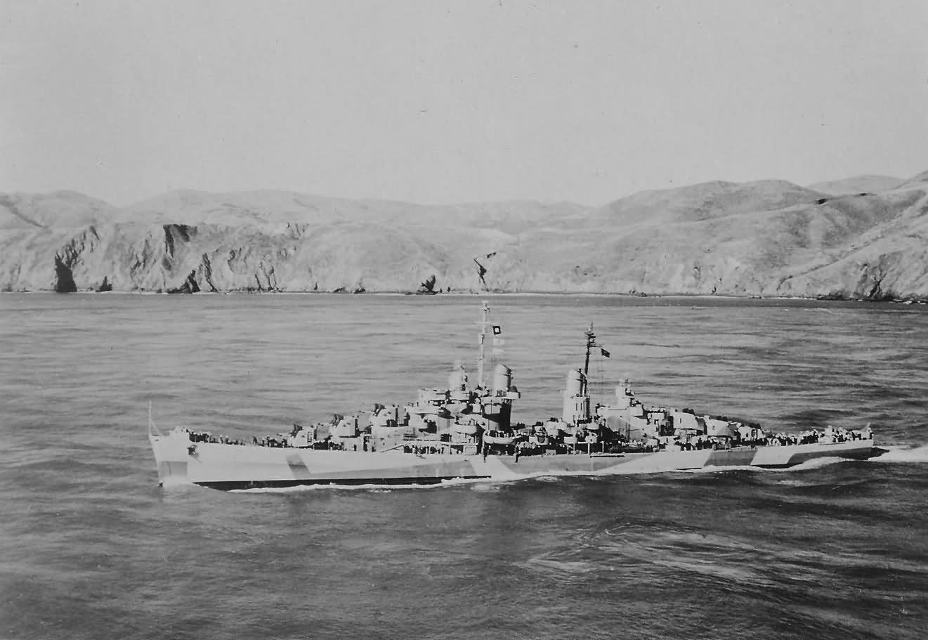 USS Reno CL-96 light cruiser