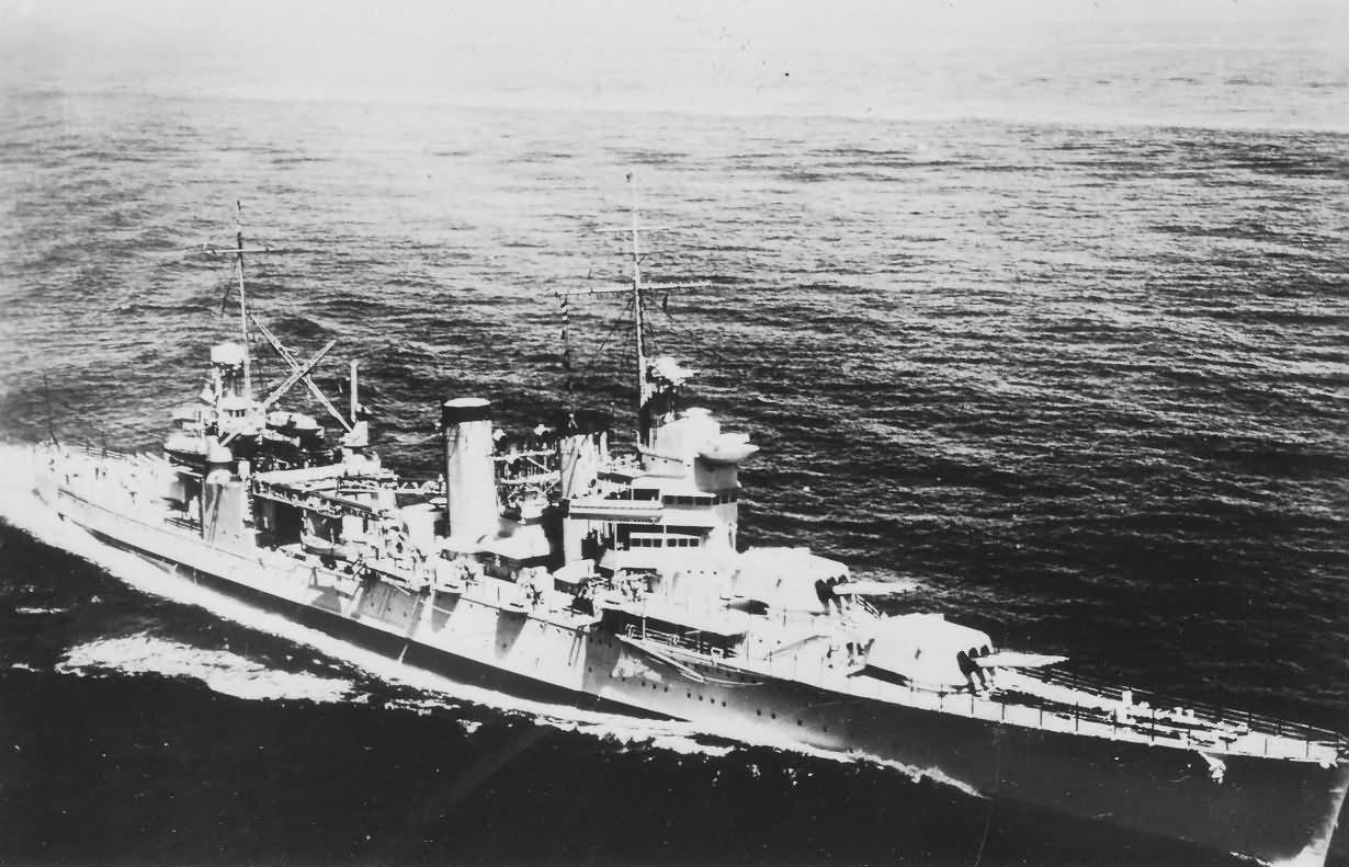 USS Tuscaloosa CA-37 US Navy Heavy Cruiser