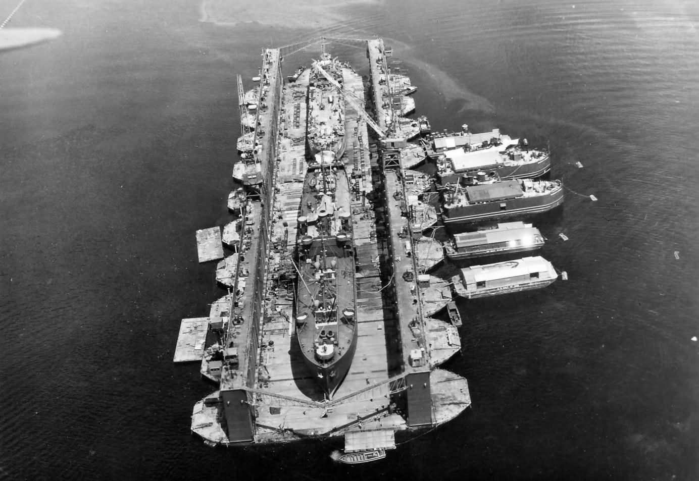 US Navy Large Floating Dry Dock, Navy Auxiliary ship