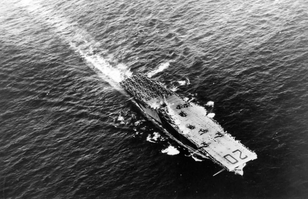 aircraft carrier USS Bennington CV-20