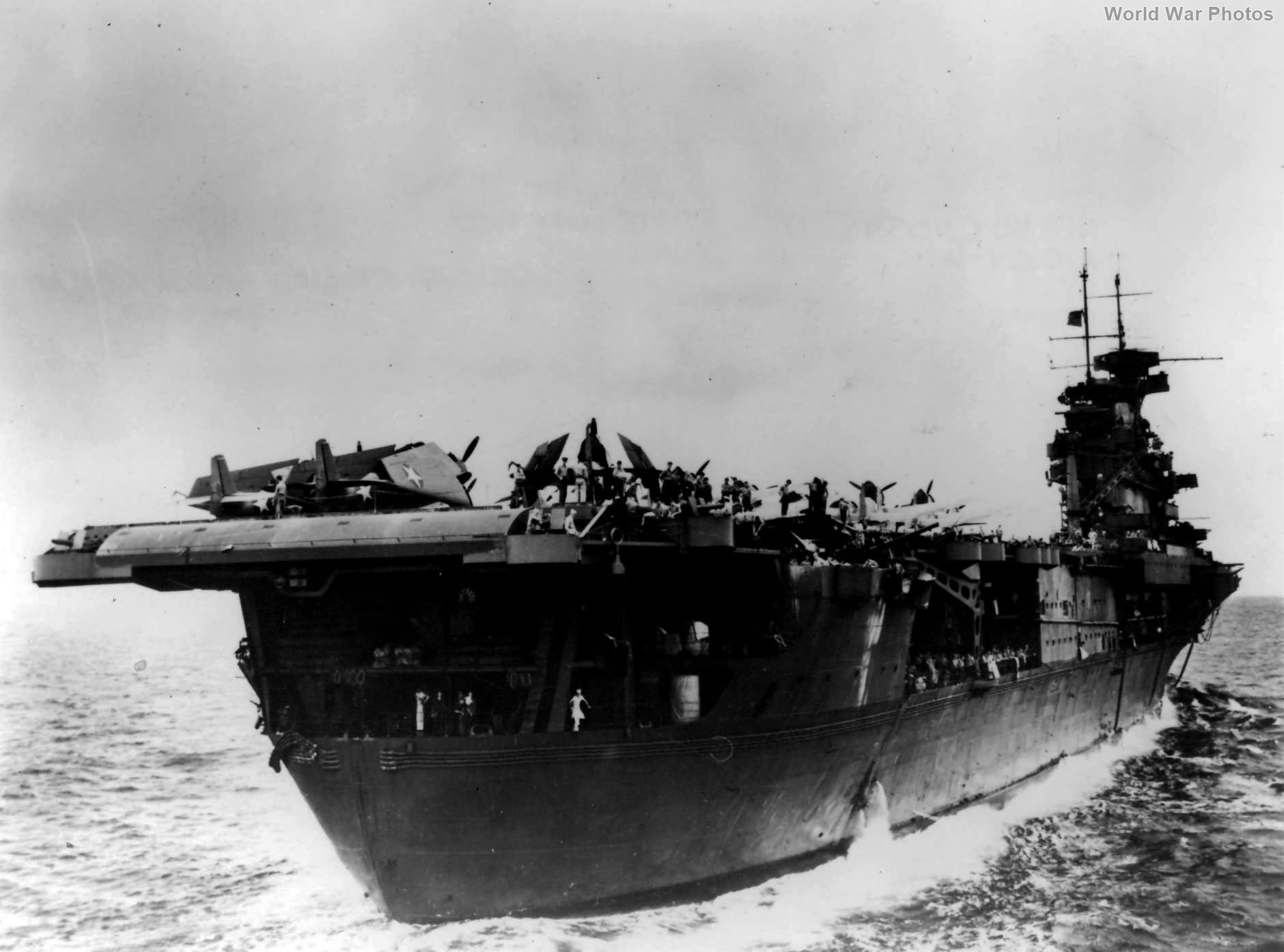 USS Enterprise stern