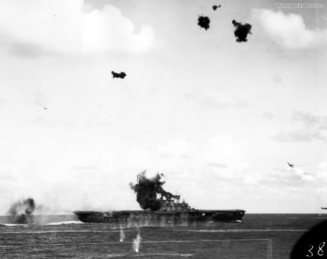 Battle of Santa Cruz Islands October 26, 1942