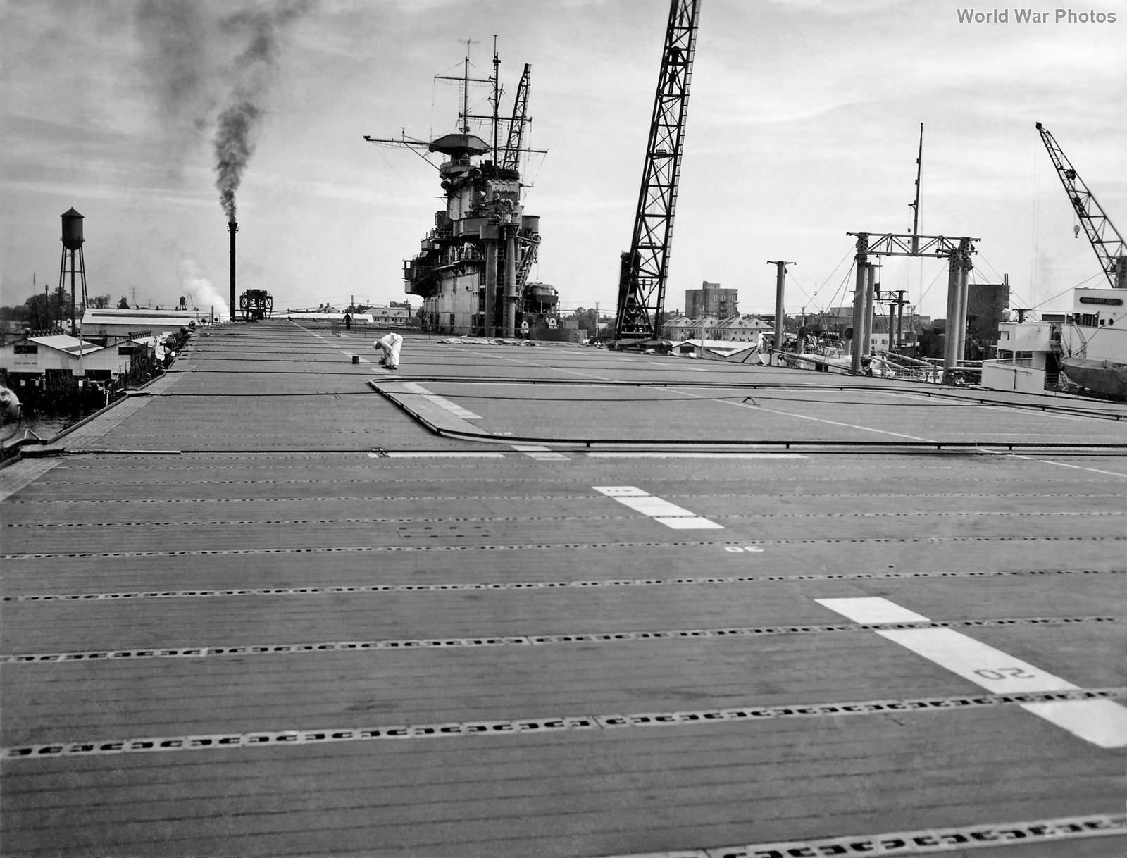 USS Hornet deck 1941 2