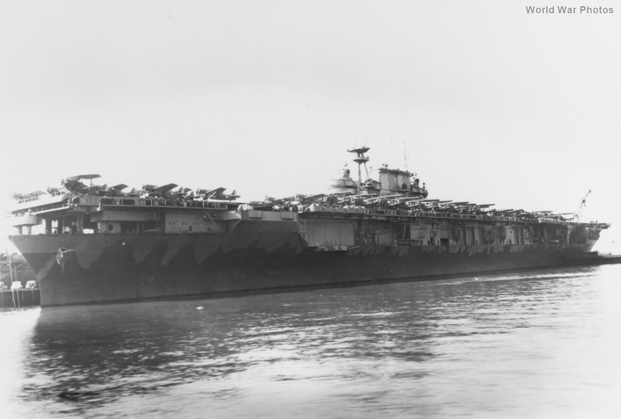 USS Hornet February 1942