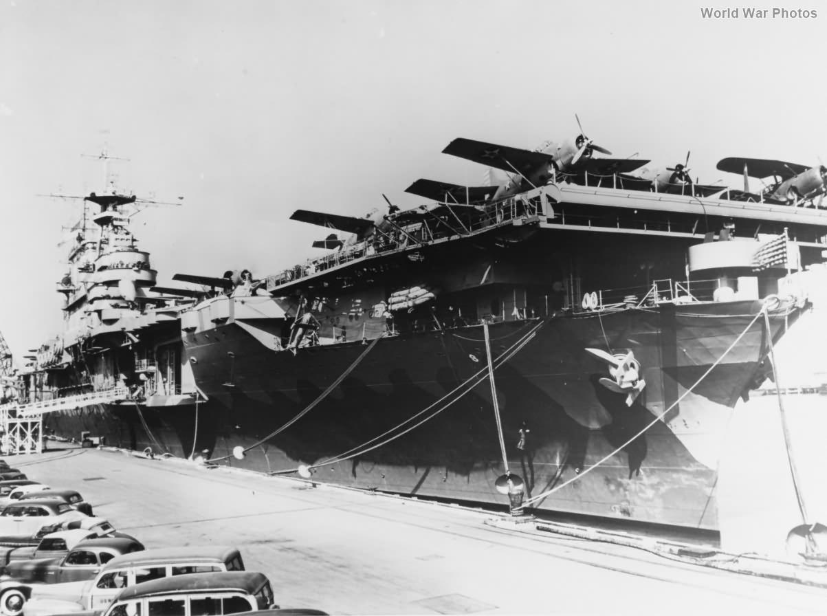 USS Hornet February 1942 2