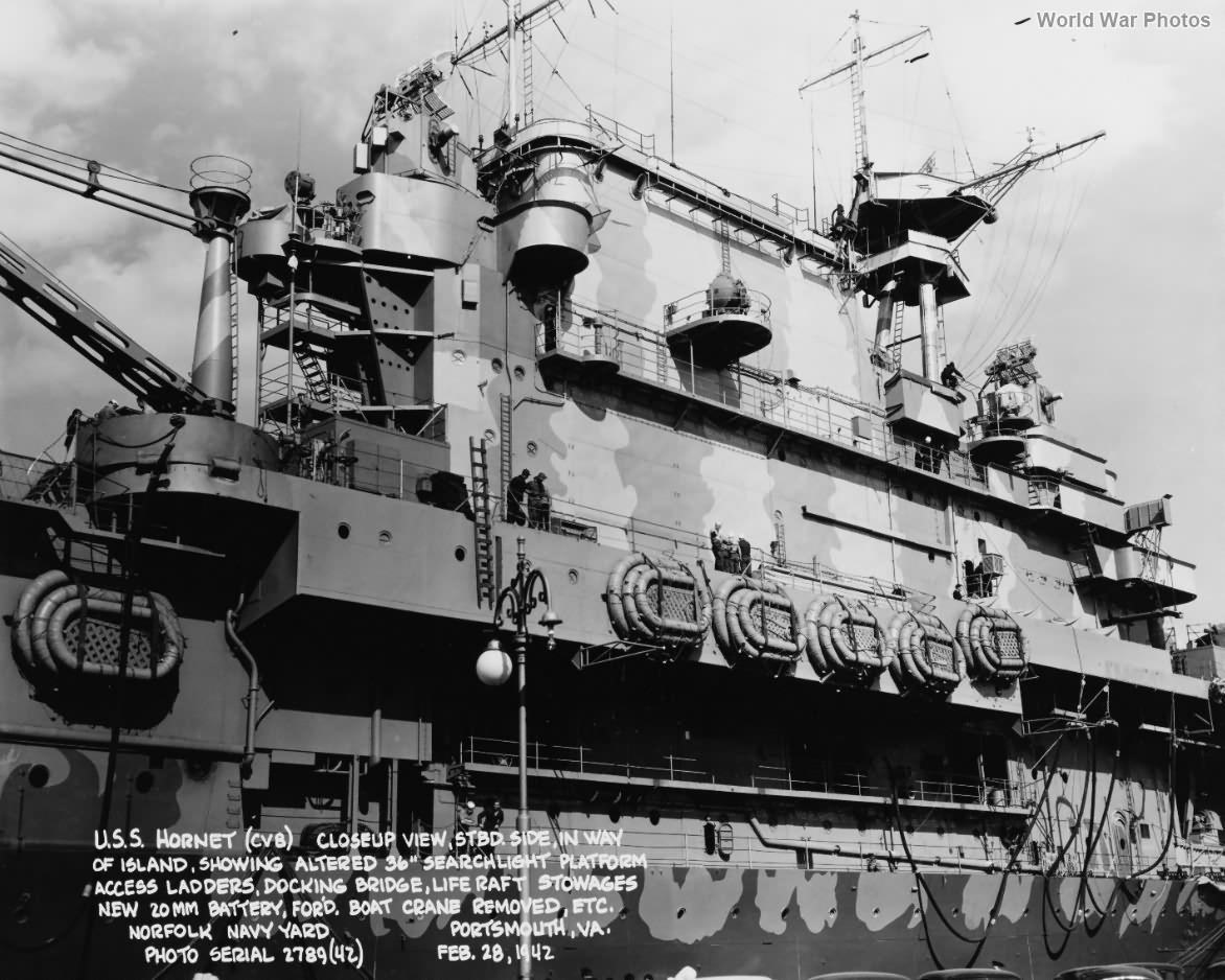 USS Hornet island – Norfolk Navy Yard