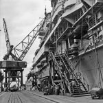 USS Hornet at Newport News Shipbuilding and Dry Dock Company